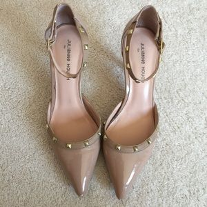 Julianne Hough f/ Sole Society nude pumps size 10B